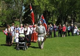 syttendemai toget 2010